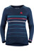 Sweet Protection W's Badlands Merino LS Jersey Midnight Blue